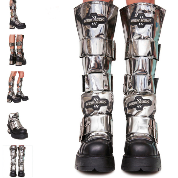 c7586de9b New Rock Shoes | Sold Boots Dolls Kill Website Exclusive | Poshmark